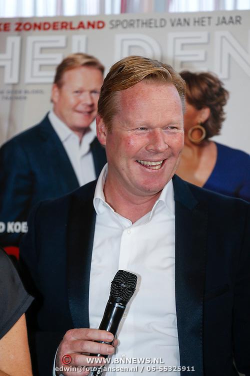 NLD/Ridderkerk/20121120 - Lancering Helden magazine nr.16, Ronald Koeman