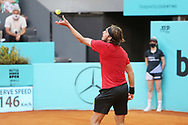 Stefanos Tsitsipas of Greece during the Mutua Madrid Open 2021, Masters 1000 tennis tournament on May 6, 2021 at La Caja Magica in Madrid, Spain - Photo Laurent Lairys / ProSportsImages / DPPI