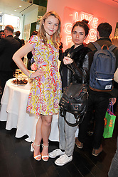 AMBER ATHERTON and JENNIFER MEDHURST at the Kate Spade NY hosted Chelsea Flower Show Tea Party held at Kate Spade, 2 Symons Street, London on 23rd May 2013.
