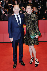 Patrick Stewart and his wife Sunny Ozell attending the Logan Premiere during the 67th Berlin International Film Festival (Berlinale) in Berlin, Germany on Februay 17, 2017. Photo by Aurore Marechal/ABACAPRESS.COM
