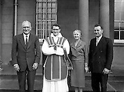 Ordinations at Holy Cross College, Clonliffe..Fifty-two priests were ordained by Most Rev. J. C. McQuaid, D.D., Archbishop of Dublin in Holy  Cross College, Clonliffe, Dublin..10.07.1960.