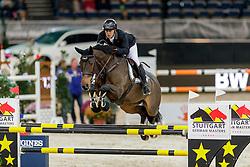 Alvarez Moya Sergio, ESP, Charmeur<br /> Stuttgart - German Masters 2019<br /> © Hippo Foto - Stefan Lafrentz<br /> 14/11/2019