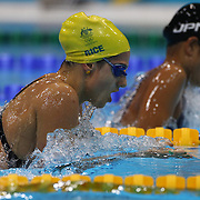 Stephanie Rice, Australia, in action during the Women's 400m Individual Medley during the swimming heats at the Aquatic Centre at Olympic Park, Stratford during the London 2012 Olympic games. London, UK. 28th July 2012. Photo Tim Clayton