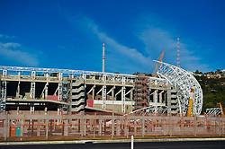Foto das reformas para modernização do estádio Beira Rio (José Pinheiro Borda) feita em 03 de junho de 2013. O est‡ádio Beira Rio vai receber‡ os jogos da Copa do Mundo de Futebol 2014. FOTO: Vinícius Costa/ Preview.com