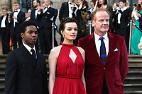 Kedar Williams-Stirling, Emma Mackey and Alistair Petrie, Our Planet - Global premiere, Natural History Museum, London, UK, 04 April 2019, Photo by Richard Goldschmidt
