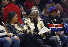 Celebrities Watching Clippers Game - 25 Feb 2019