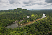 Essequibo River region 9<br /> Iwokrama<br /> Rupununi<br /> GUYANA<br /> South America<br /> Longest river in Guyana