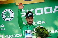 Podium, Peter Sagan (SVK - Bora - Hansgrohe) green jersey during the 105th Tour de France 2018, Stage 15, Millau - Carcassonne (181,5 km) on July 22th, 2018 - Photo Luca Bettini / BettiniPhoto / ProSportsImages / DPPI