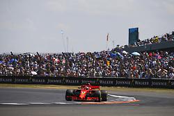 July 7, 2018 - Silverstone, Great Britain - Motorsports: FIA Formula One World Championship 2018, Grand Prix of Great Britain, .#5 Sebastian Vettel (GER, Scuderia Ferrari) (Credit Image: © Hoch Zwei via ZUMA Wire)