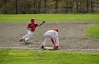 St Paul's School varsity baseball versus Rivers.  ©2017 Karen Bobotas Photographer