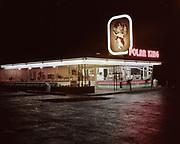 CH0002-01. Polar King Drive-In. 1205 NE Broadway, Portland, OR.  NE corner of 12th. 1950s.