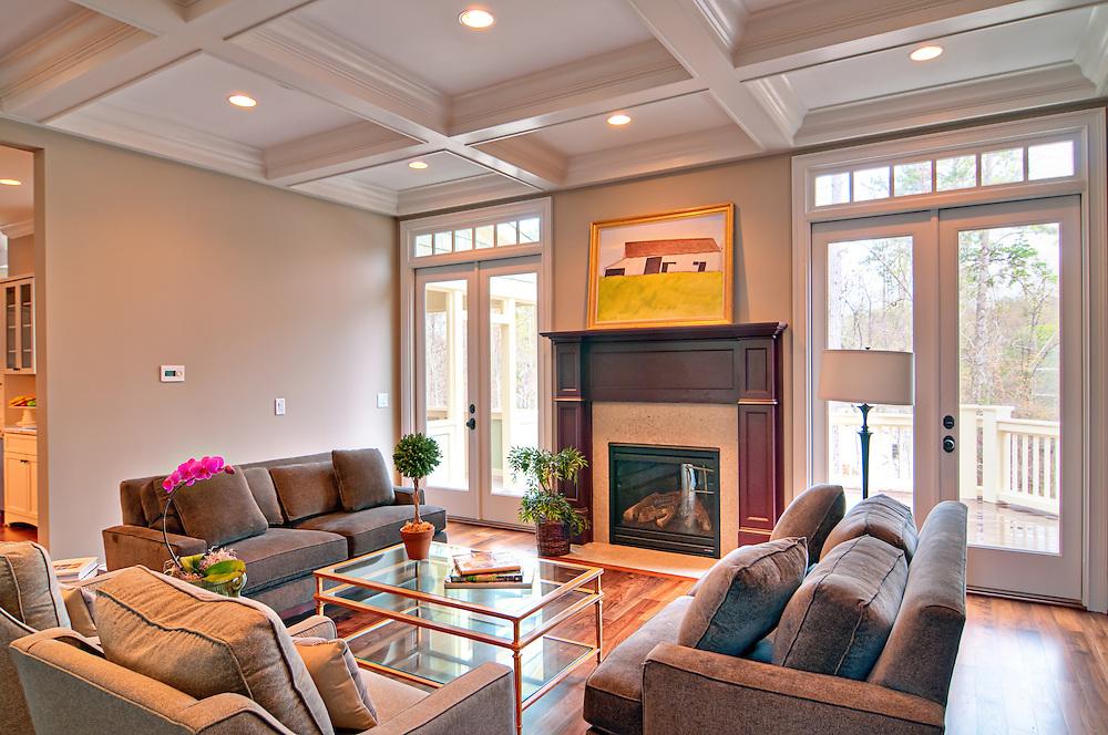Living Room, Montclair Community, Chapel Hill, NC