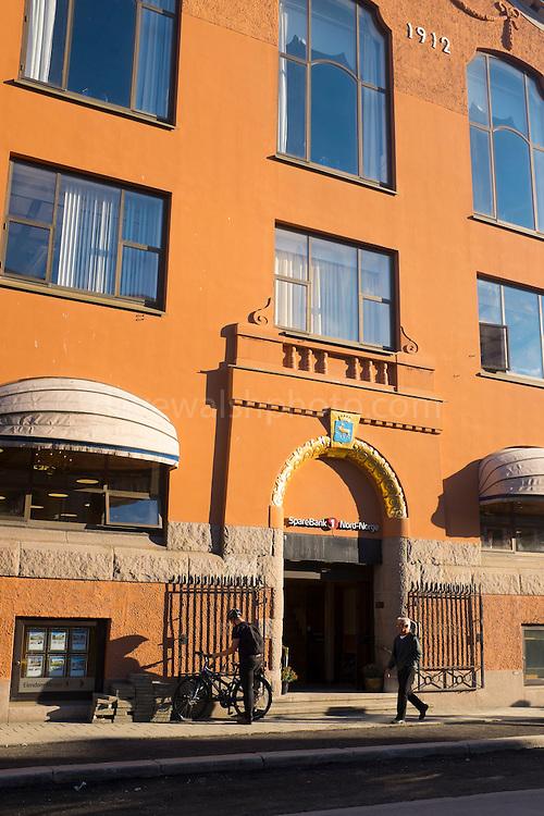 Sparebank office, Tromso, Norway