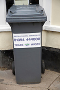 Trade waste refuse bin