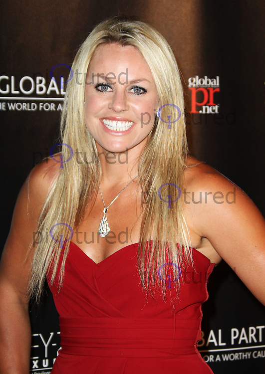 Chemmy Alcott attends The Global Party Launch at the Natural History Museum, London, UK. 08 September 2011. Contact: Rich@Piqtured.com +44(0)7941 079620 Picture by Richard Goldschmidt