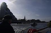 2005 Varsity Boat Race. Tideway Week, Putney, London, ENGLAND. Wednesday am training session. Oxford University Boat club morning training session;..Photo  Peter Spurrier. .email images@intersport-images...[Mandatory Credit Peter Spurrier/ Intersport Images]