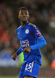 """Leicester City's Wilfred Ndidi during the Carabao Cup, third round match at the King Power Stadium, Leicester. PRESS ASSOCIATION Photo. Picture date: Tuesday September 19, 2017. See PA story SOCCER Leicester. Photo credit should read: Mike Egerton/PA Wire. RESTRICTIONS: EDITORIAL USE ONLY No use with unauthorised audio, video, data, fixture lists, club/league logos or """"live"""" services. Online in-match use limited to 75 images, no video emulation. No use in betting, games or single club/league/player publications."""