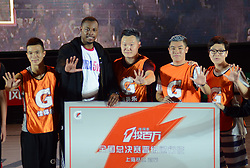 September 3, 2017 - Shanghai, Shanghai, China - Shanghai, CHINA-3rd September 2017: (EDITORIAL USE ONLY. CHINA OUT) ..American basketball player Paul Pierce attends the award ceremony of the NBA 5V5 Final in Shanghai, September 3rd, 2017. (Credit Image: © SIPA Asia via ZUMA Wire)