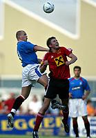 Fotball<br /> Skottland 2004/05<br /> Treningskamp<br /> FC Fuerstenfeld vs Glasgow Rangers<br /> 18. juli 2004<br /> Foto: Digitalsport<br /> NORWAY ONLY<br /> Robert Malcolm (Rangers)