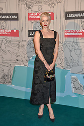 Portia Freeman at the Fabulous Fund Fair in aid of Natalia Vodianova's Naked Heart Foundation in association with Luisaviaroma held at The Round House, Camden, London England. 18 February 2019.