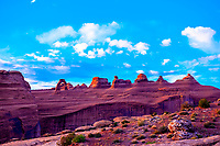 Delicate Arch, Arches National Park, near Moab, Utah USA