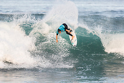Johanne Defay (FRA) is eliminated from the 2018 Roxy Pro France finished with an equal 5th after placing second in Quarterfinal Heat 2 in Hossegor, France.