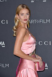 Rosie Huntington-Whiteley attends the 2016 LACMA Art + Film Gala honoring Robert Irwin and Kathryn Bigelow presented by Gucci at LACMA on October 29, 2016 in Los Angeles, California. Photo by Lionel Hahn/AbacaUsa.com
