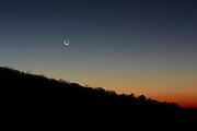Moonrise in Nelson County, VA. Photo/Andrew Shurtleff