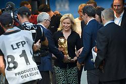 August 10, 2018 - Marseille, France - NATHALIE BOY DE LA TOUR (PRESIDENTE DE LA LFP) - COUPE DU MONDE - TROPHEE (Credit Image: © Panoramic via ZUMA Press)