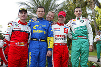 Motor<br /> Foto: Dppi/Digitalsport<br /> NORWAY ONLY<br /> <br /> AUTO - WRC 2005 - MONTE CARLO RALLY - MONACO 23/01/2005<br /> <br /> GILLES PANIZZI - STEPHANE SARRAZIN - PETTER SOLBERG -  SEBASTIEN LOEB - ALEXANDRE BENGUE<br /> GILLES PANIZZI (FRA) / MITSUBISHI LANCER WRC05 - AMBIANCE - PORTRAIT<br /> STEPHANE SARRAZIN (FRA) / SUBARU IMPREZA WRC - AMBIANCE - PORTRAIT<br /> PETTER SOLBERG (NOR) / SUBARU IMPREZA WRC - AMBIANCE - PORTRAIT<br /> SEBASTIEN LOEB (FRA) / CITROEN XSARA WRC - AMBIANCE - PORTRAIT<br /> ALEXANDRE BENGUE (FRA) / SKODA FABIA WRC - AMBIANCE - PORTRAIT FUNNY