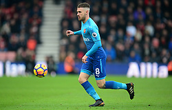 Aaron Ramsey of Arsenal - Mandatory by-line: Alex James/JMP - 14/01/2018 - FOOTBALL - Vitality Stadium - Bournemouth, England - Bournemouth v Arsenal - Premier League