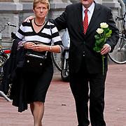 NLD/Amsterdam/20110722 - Afscheidsdienst voor John Kraaijkamp, Jacques Senf en partner