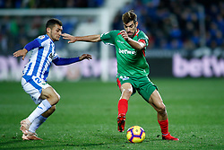 November 23, 2018 - Leganes, MADRID, SPAIN - Manu of Alaves during the Spanish Championship La Liga football match between CD Leganes and Deportivo Alaves on November 23th, 2018 at Estadio de Butarque in Leganes, Madrid, Spain. (Credit Image: © AFP7 via ZUMA Wire)