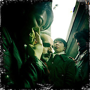Paris, France. February 26th 2012.In the parisian subway