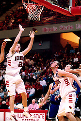 January 26, 2002:  Illinois State Redbirds basketball player Gregg Alexander...This image was scanned from a print.  Image quality may vary.  Dust and other unwanted artifacts may exist.