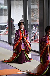 October 22, 2019, Tokyo, Japan: 22-10-2019 TOKYO Princess Kiko attend the enthronement ceremony where emperor officially proclaims his ascension to the Chrysanthemum Throne at the Imperial Palace in Tokyo..../pool (Credit Image: © face to face via ZUMA Press)