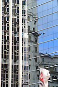 Sao Paulo_MG, Brasil...Reflexo de um predio na janela...The building reflex in the windows...Foto: LEO DRUMOND / NITRO