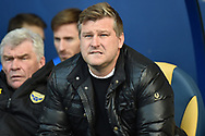 Oxford United manager Karl Robinson during the EFL Sky Bet League 1 match between Oxford United and AFC Wimbledon at the Kassam Stadium, Oxford, England on 13 April 2019.