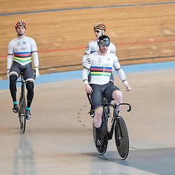 19-02-2020: Wielrennen: persmoment KNWU: Alkmaar<br />De Teamsprinters verdedigen in  Berlijn de wereldtitel