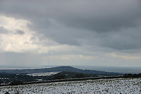 View of Dublin / Wicklow in the snow