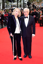 Helen Morris and Martin Scorsese attending the Closing Gala and International premiere of The Irishman, held as part of the BFI London Film Festival 2019, London.