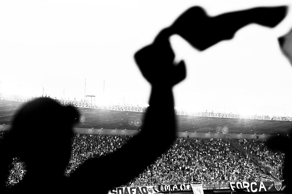 Belo Horizonte_MG,  12 de abril de 2009...Projeto / A Massa...Torcedores atleticanos em jogo valido pelo semi-final do Campeonato Mineiro 2009...Atletico-MG 2 x 0 Rio Branco..Foto: NIDIN SANCHES / NITRO