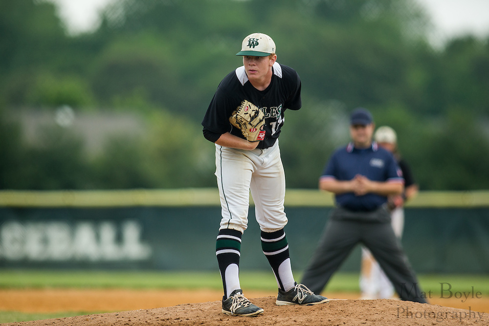 West Deptford High School defeats Cinnaminson High School in the 2016 Group 2 South Jersey Sectional Finals at Union Field in Thorofare, NJ on Friday June 3, 2016. (photo / Mat Boyle)