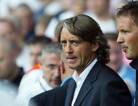Photo: Chris Ratcliffe.<br /> Tottenham Hotspur v Inter Milan. Pre Season Friendly. 28/07/2006.<br /> Roberto Mancini, coach of Inter Milan.