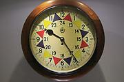 RAF sector clock Lascaris War Rooms underground museum, Valletta, Malta