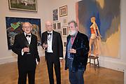 WILL WYATT, ALLEN JONES, TOM PHILLIPS, 2019 Royal Academy Annual dinner, Piccadilly, London.  3 June 2019