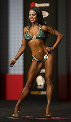 Sept.16, 2016 - Las Vegas, Nevada, U.S. -  ASHLEY KALTWASSER competes in the Bikini Olympia contest during Joe Weider's Olympia Fitness and Performance Weekend.(Credit Image: © Brian Cahn via ZUMA Wire)