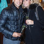 NLD/Amserdam/20131115 - Opening Nyves2, Giovanni van Bronckhorst en partner Marieke Wolfers