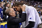 DESCRIZIONE : Berlino Berlin Eurobasket 2015 Group B Germany Germania - Italia Italy<br /> GIOCATORE : Giovanni Petrucci Andrea Bargnani<br /> CATEGORIA : Ritratto Esultanza Fair Play Postgame<br /> SQUADRA : Italia Italy<br /> EVENTO : Eurobasket 2015 Group B<br /> GARA : Germany Italy - Germania Italia<br /> DATA : 09/09/2015<br /> SPORT : Pallacanestro<br /> AUTORE : Agenzia Ciamillo-Castoria/GiulioCiamillo