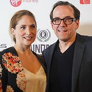 London, UK, 20th September 2017. Jessica Parker,Ben Miller attend Raindance 25th Film Festival Opening Gala at VUE Leicester Square.